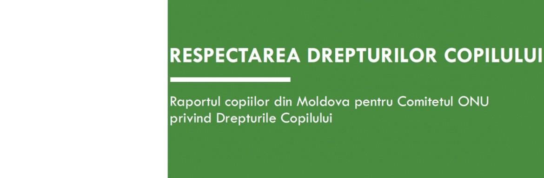 Invitație. Lansarea raportului Respectarea drepturilor copilului în Republica Moldova